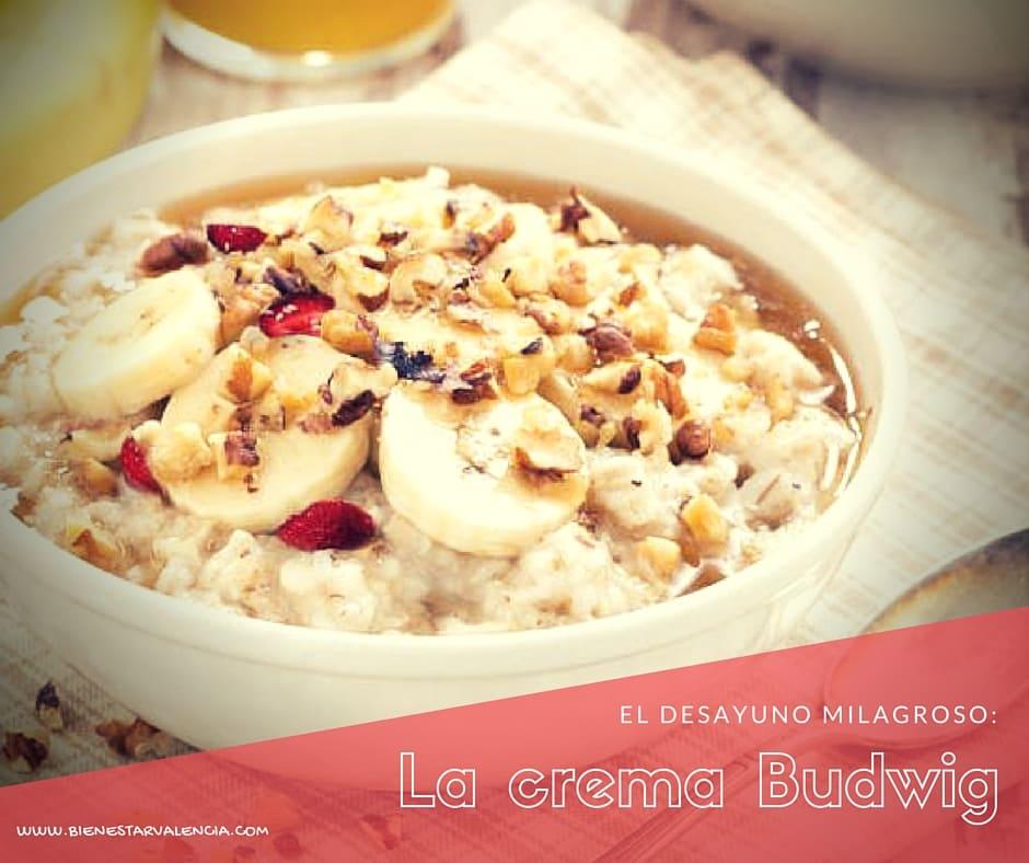 Desayuno Crema Budwig