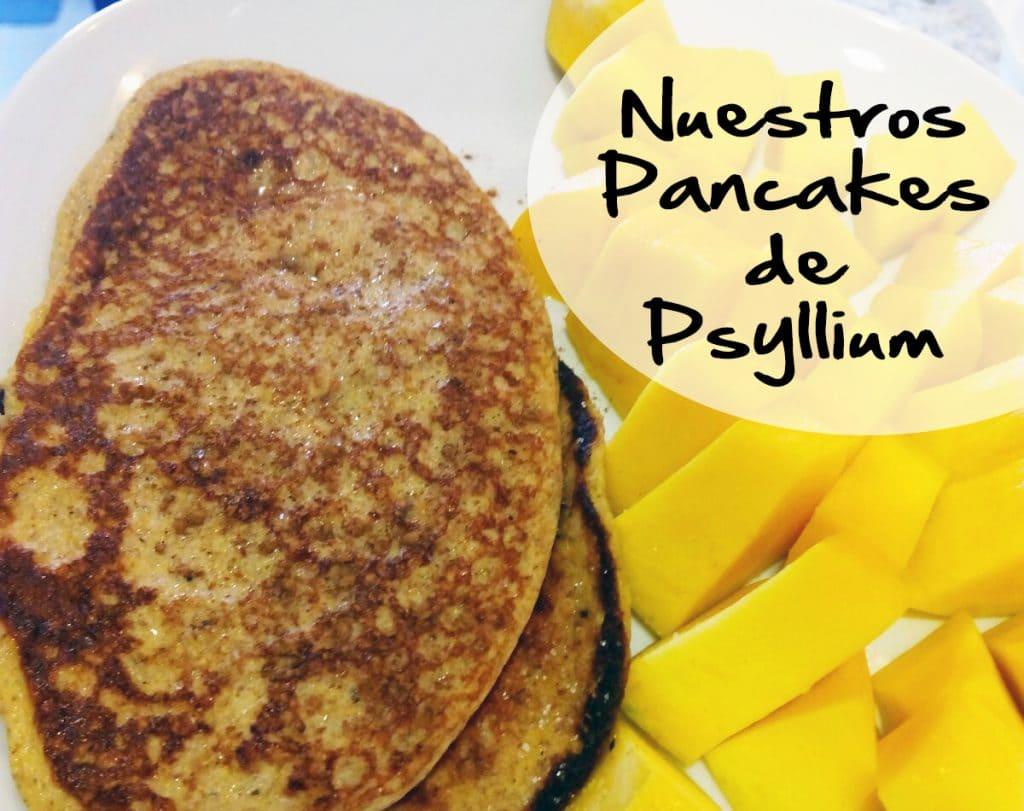 Nuestros Pancakes de Psyllium LowCarb