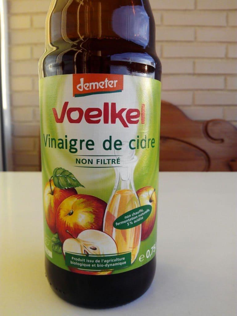 vinagre de manzana sin filtar voelkel